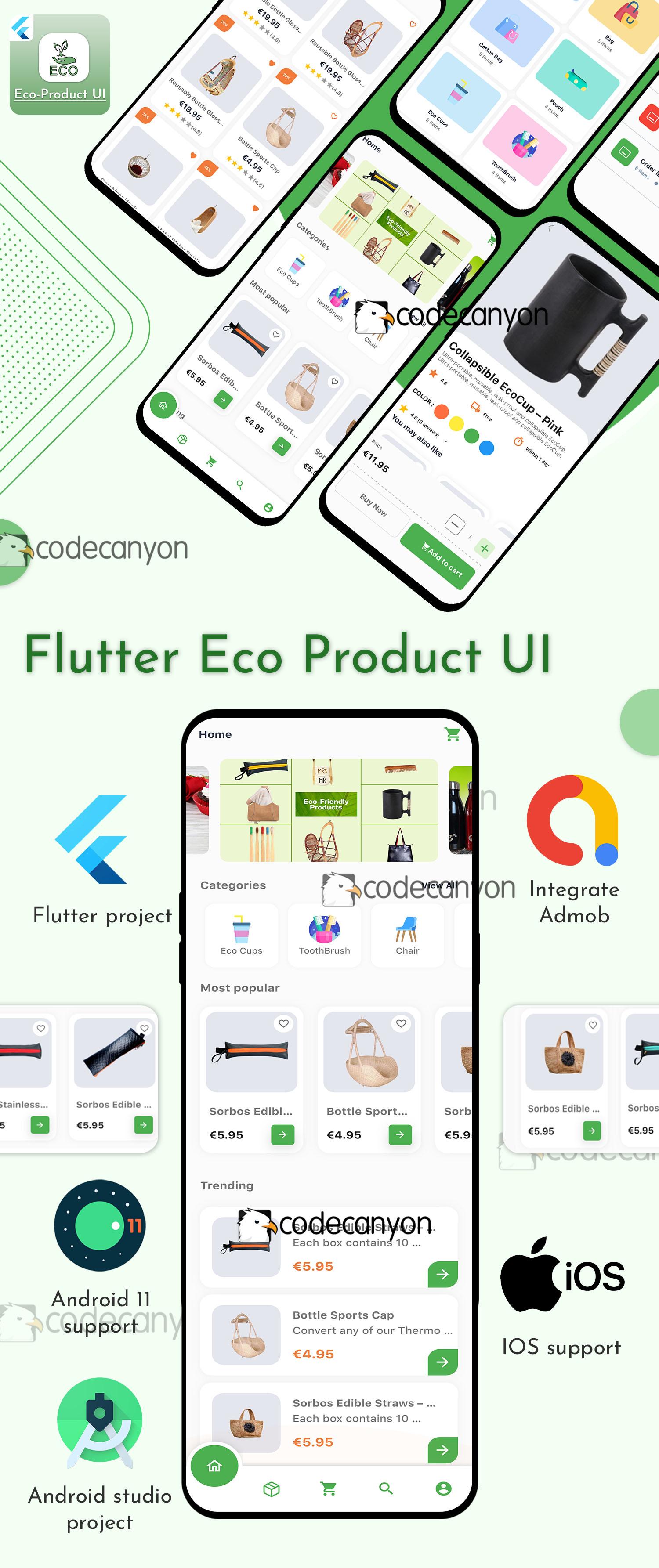 Mega Bundle Flutter UI Kit - 12